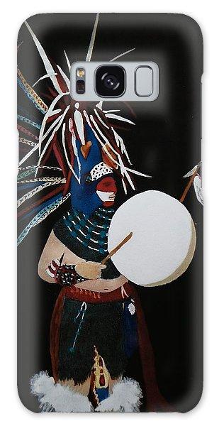 Native Dancer With Drum Galaxy Case