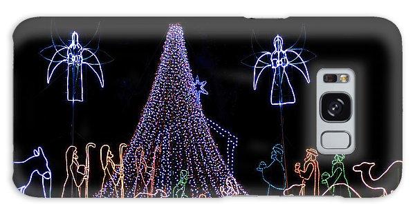 Nativity Scene Galaxy Case by Kenneth Albin