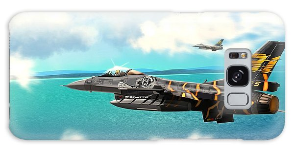 Nato Belgian Air Force 31 F16  Galaxy Case by John Wills