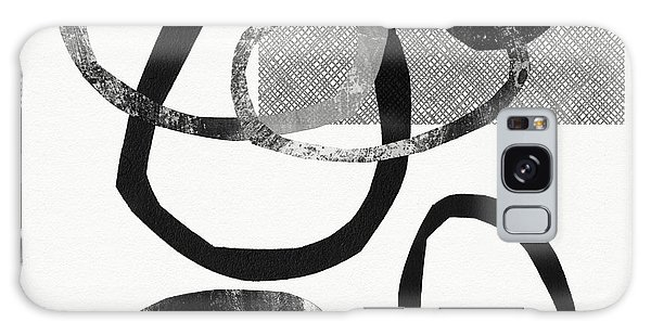 Stone Wall Galaxy Case - Natural Balance 2- Abstract Art By Linda Woods by Linda Woods