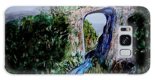 Natural Bridge In Virginia Galaxy Case by Donna Walsh