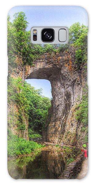 Natural Bridge - Virginia Landmark Galaxy Case