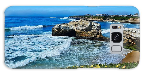 Natural Bridges State Park View Galaxy Case