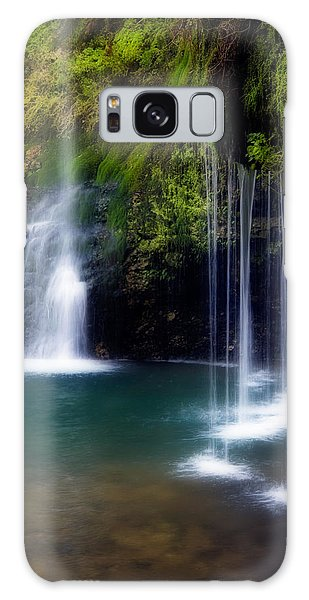 Natural Falls Galaxy Case by Lana Trussell
