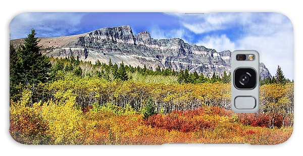 Natural Layers In Glacier National Park Galaxy Case