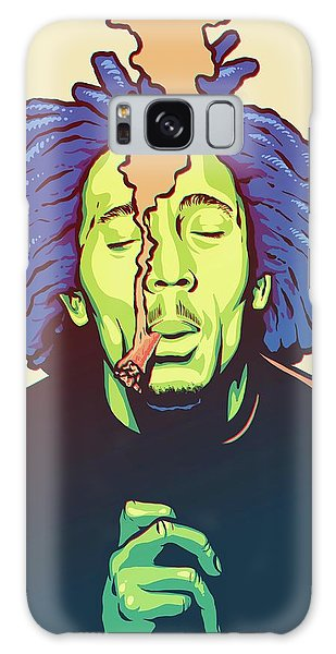 Plants Galaxy Case - Natural Mystic by Miggs The Artist