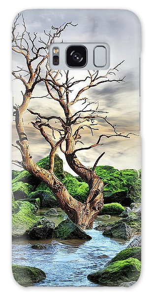 Natural Surroundings Galaxy Case by Angel Jesus De la Fuente