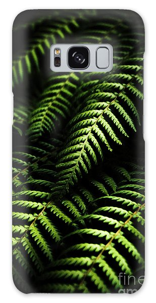 Green Leaf Galaxy Case - Nature In Minimalism by Jorgo Photography - Wall Art Gallery