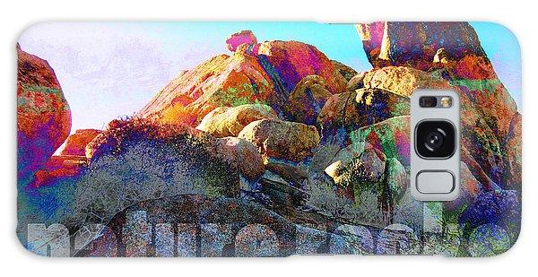 Nature Rocks Desert Landscape Galaxy Case