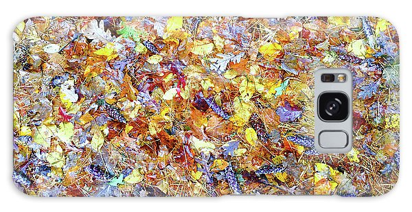 Natures Fall Falling Patterns Galaxy Case