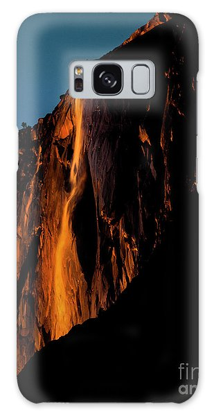 Natures Fire Fall Galaxy Case