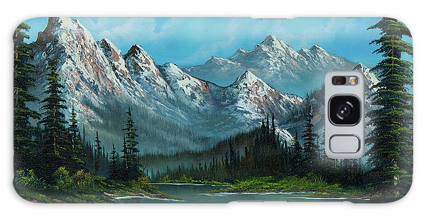 Mountain Lake Galaxy Case - Nature's Grandeur by Chris Steele
