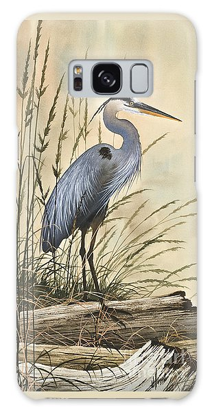 Herons Galaxy Case - Nature's Harmony by James Williamson