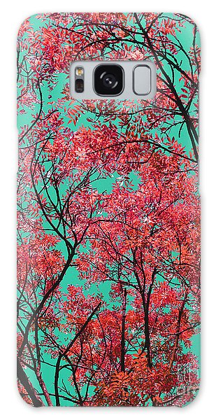 Natures Magic - Fire Red Galaxy Case