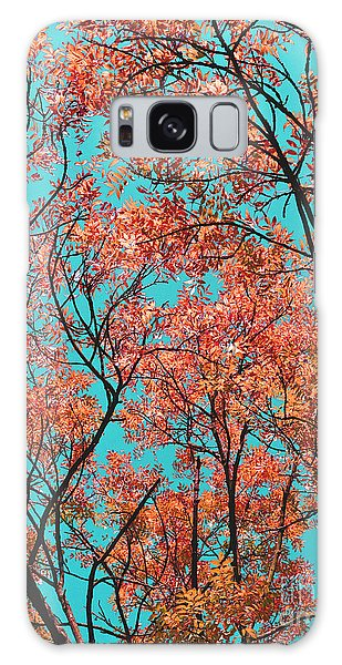 Natures Magic - Orange Galaxy Case