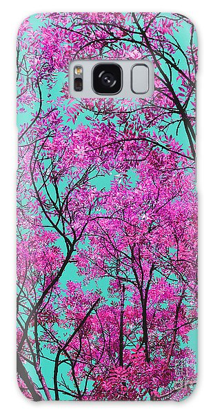Natures Magic - Pink And Blue Galaxy Case