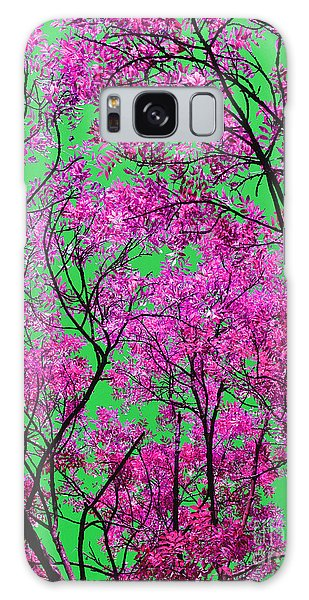 Natures Magic - Pink And Green Galaxy Case