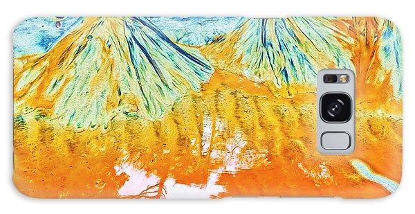 Natures Sand Art Galaxy Case