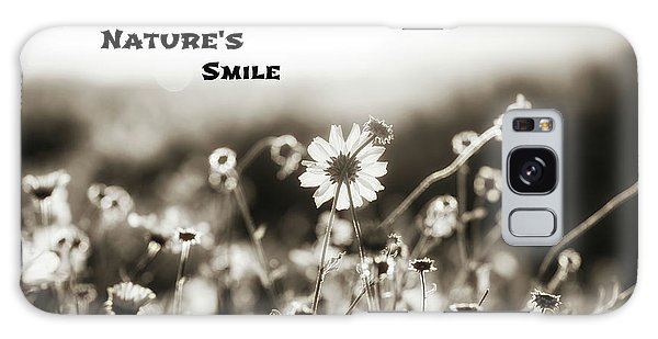 Nature's  Smile Monochrome Galaxy Case