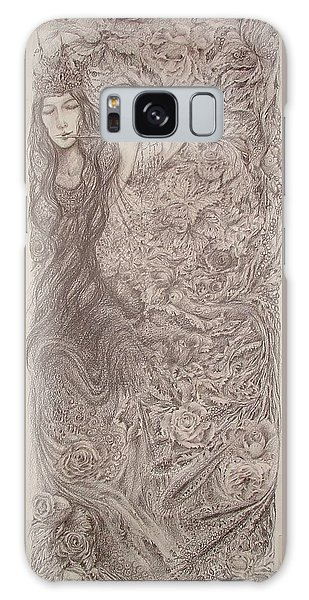 Nature's Song Galaxy Case by Rita Fetisov