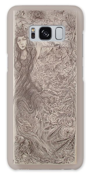 Nature's Song Galaxy Case by Rita Fetisov