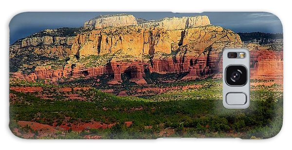 Nature's Spotlight, Sedona, Arizona Galaxy Case