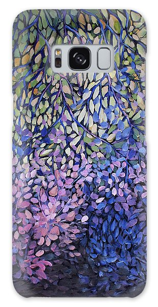 Natures Stain Glass Symphony Galaxy Case