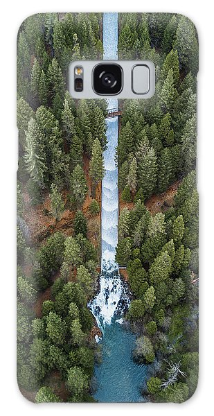 Natures Waterslide  Galaxy Case