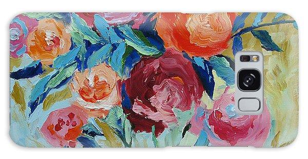 Pink Flower Galaxy Case - Nature's Wonder by Linda Monfort