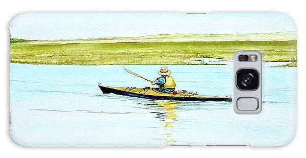 Nauset Kayaker Galaxy Case
