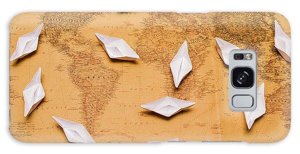 Shipping Galaxy Case - Nautical Adventure by Jorgo Photography - Wall Art Gallery