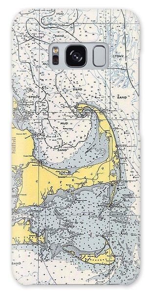 Nautical Chart Of Cape Cod 1945v Galaxy Case