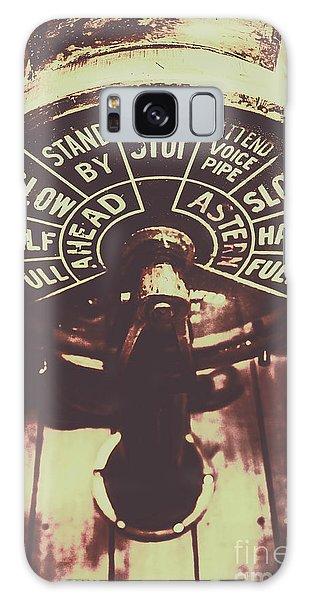 Navigation Galaxy Case - Nautical Engine Room Telegraph by Jorgo Photography - Wall Art Gallery