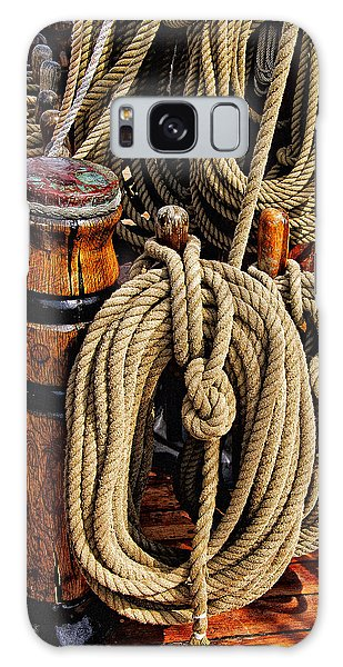 Nautical Knots 16 Galaxy Case