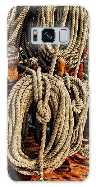 Nautical Knots 17 Oil Galaxy Case