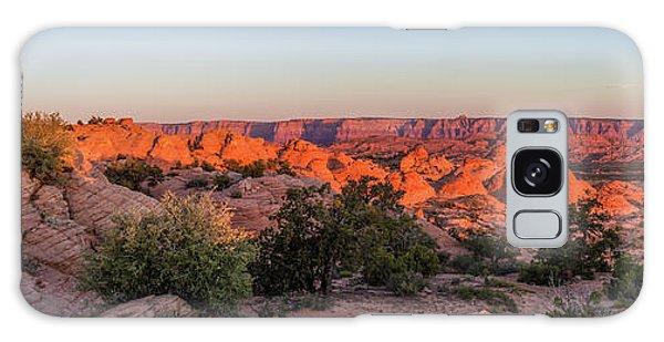 Navajo Land Morning Splendor Galaxy Case