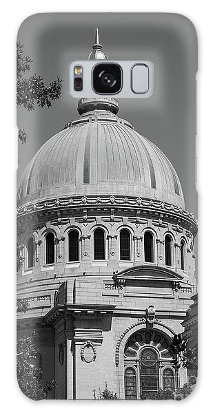 Naval Academy Chapel - Black And White Galaxy Case