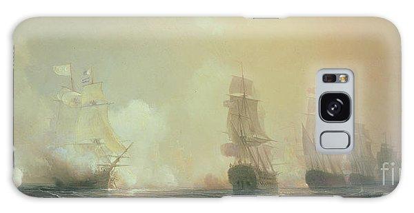 Cannon Galaxy Case - Naval Battle In Chesapeake Bay by Jean Antoine Theodore Gudin