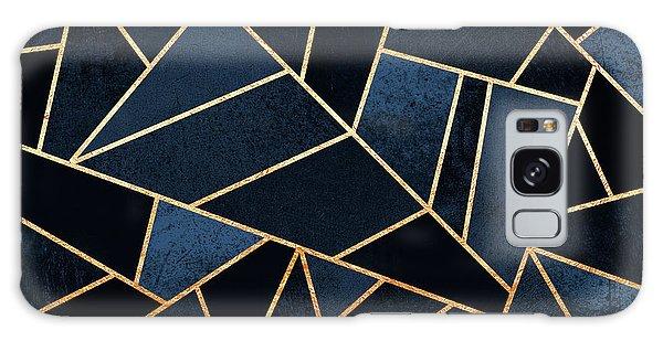 Geometric Galaxy Case - Navy Stone by Elisabeth Fredriksson