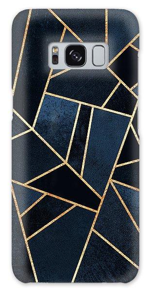 Artwork Galaxy Case - Navy Stone by Elisabeth Fredriksson