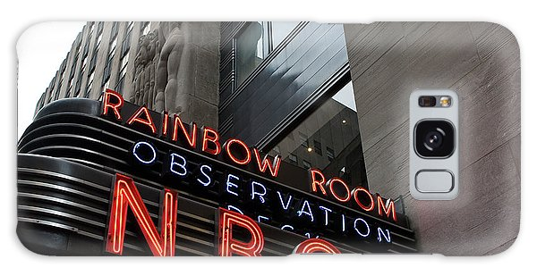 Nbc Studio Rainbow Room Sign Galaxy Case