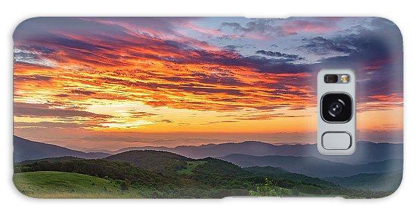 Nc Mts Sunrise Galaxy Case