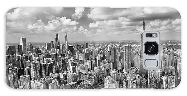 Chicago Art Galaxy Case - Near North Side And Gold Coast Black And White by Adam Romanowicz