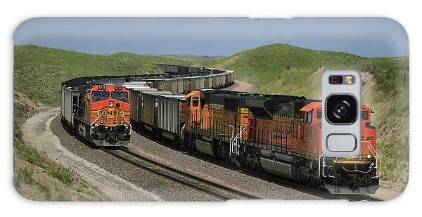 Nebraska Coal Trains Galaxy Case