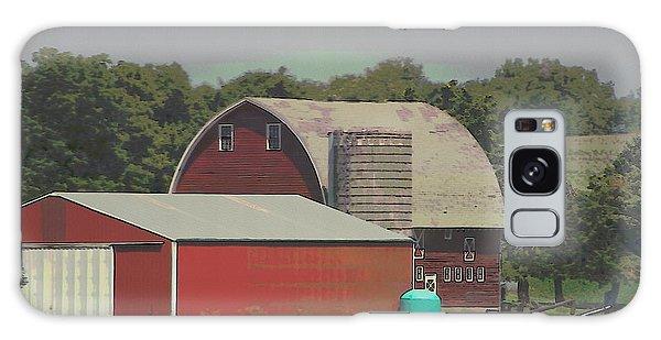 Nebraska Farm Life - The Family Farm Galaxy Case