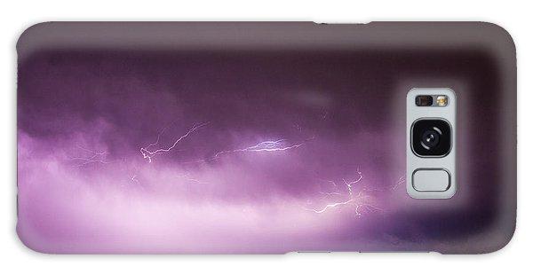 Nebraska Night Thunderstorms 013 Galaxy Case