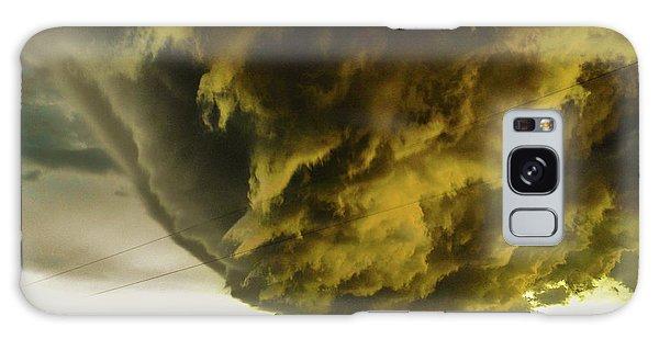 Nebraska Supercell, Arcus, Shelf Cloud, Remastered 018 Galaxy Case