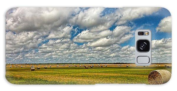 Nebraska Wheat Fields Galaxy Case