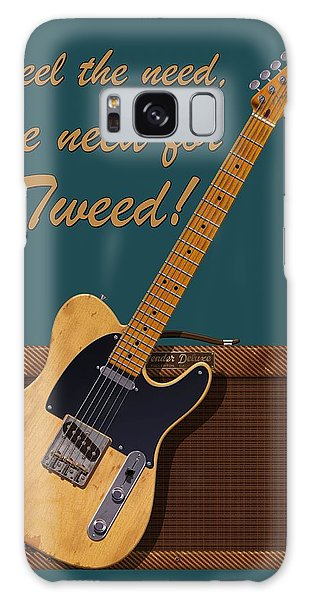 Need For Tweed Tele T Shirt Galaxy Case