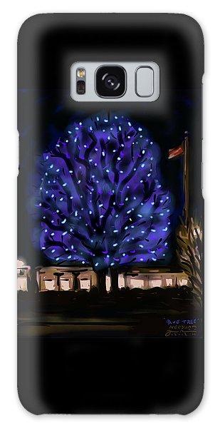 Needham's Blue Tree Galaxy Case by Jean Pacheco Ravinski